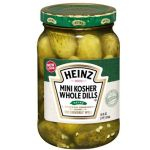 American Heinz Mini Kosher Whole Dills
